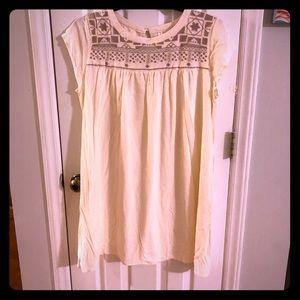 Cute cream dress XXL